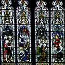 another Beverley Minster Window by Bev Pascoe