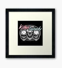 Laughing Skulls: Killer Comedy Framed Print