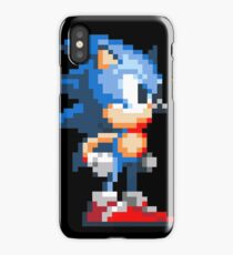 Sonic pixels iPhone Case/Skin