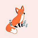 Happy Fox by Susann Hoffmann