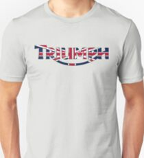 Triumph 2005 Style - Great Britian Flag T-Shirt