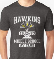 Stranger Things - Hawkins Middle School A.V. Club Unisex T-Shirt