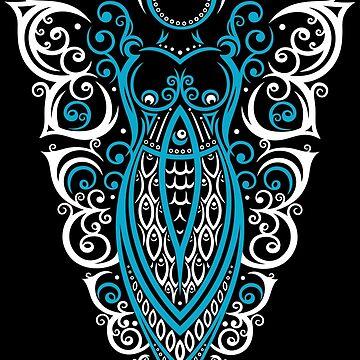 Pagan Art . Göttin der Schmetterlinge. von ChristineKrahl
