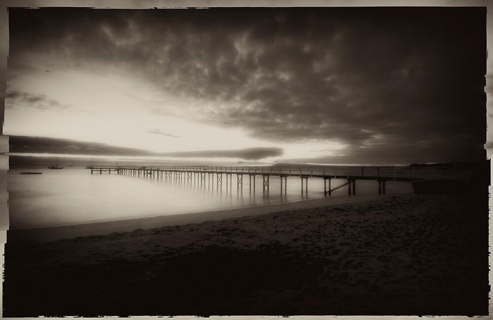 Vintage Pier 7 by Sue Wickham