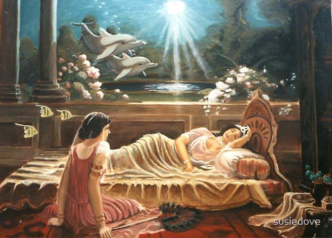 Sleeping Princess by susiedove