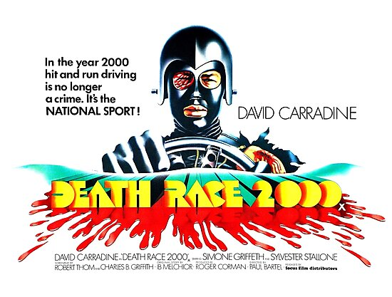 Death Race 2000 Movie Poster by UnconArt