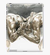 Headbanger - Wrestling Watercolor iPad Case/Skin