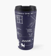 Crazy Kitty Time 101 Travel Mug