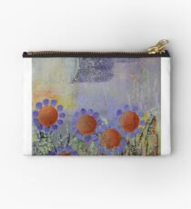 Cheery Flowers Abstract Studio Pouch