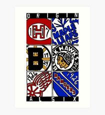 Original Six Art Print