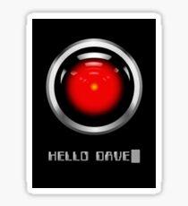 Hal 2000 - Hello Dave Sticker