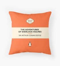 Old School Holmes  Throw Pillow