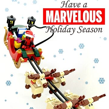 Marvelous Holiday Card by ryanrydalch