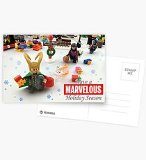 Marvelous Holiday Card Collection Postcards