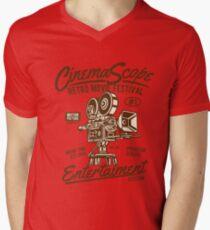 Cinema Scope Men's V-Neck T-Shirt