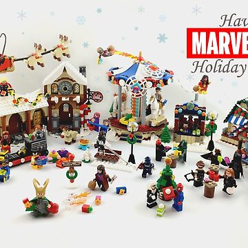 Marvelous Holiday Card Collection by ryanrydalch