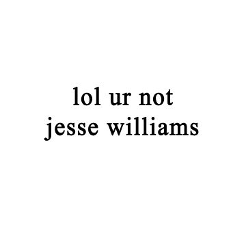 Lol ur not Jesse Williams {FULL} by fandomss