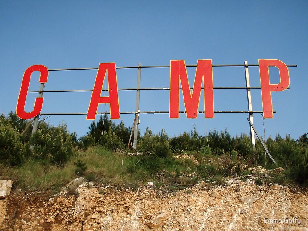 'Camp'  by Emma Gaffy