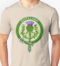 Belted Thistle Badge of Scotland Unisex T-Shirt