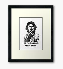 I see you shiver... (Rocky Horror Picture Show) Framed Print