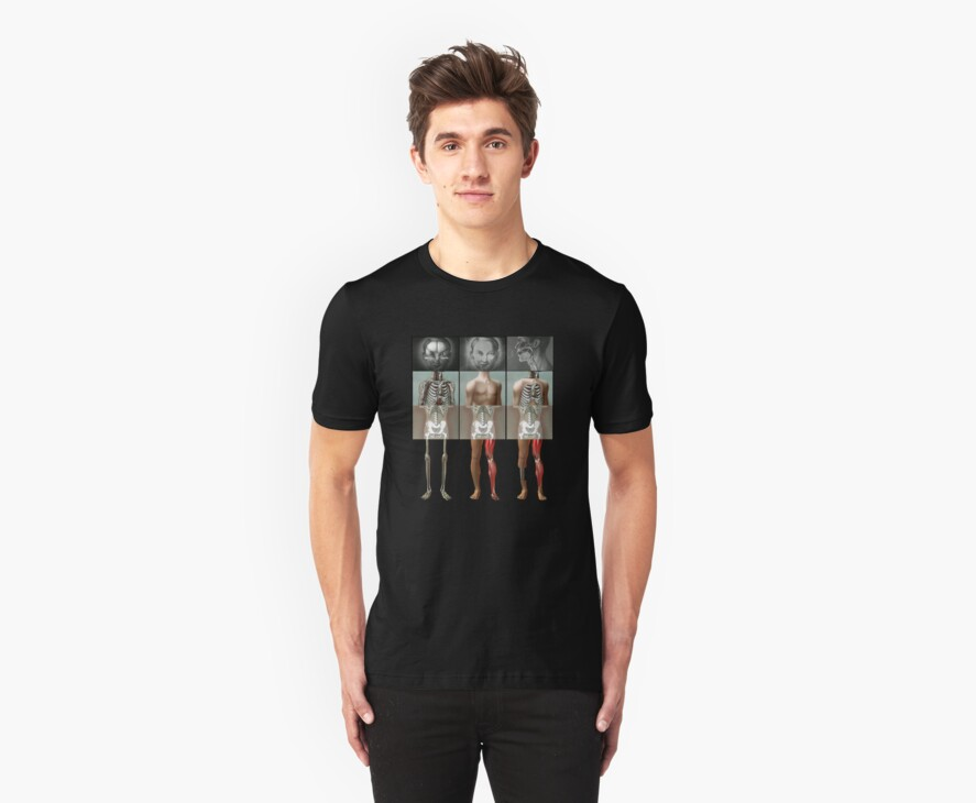Meeting of the mangled Tshirt by MuscularTeeth