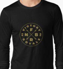 Fortnite Battle Royale - Victory Royale Badge Gold Long Sleeve T-Shirt