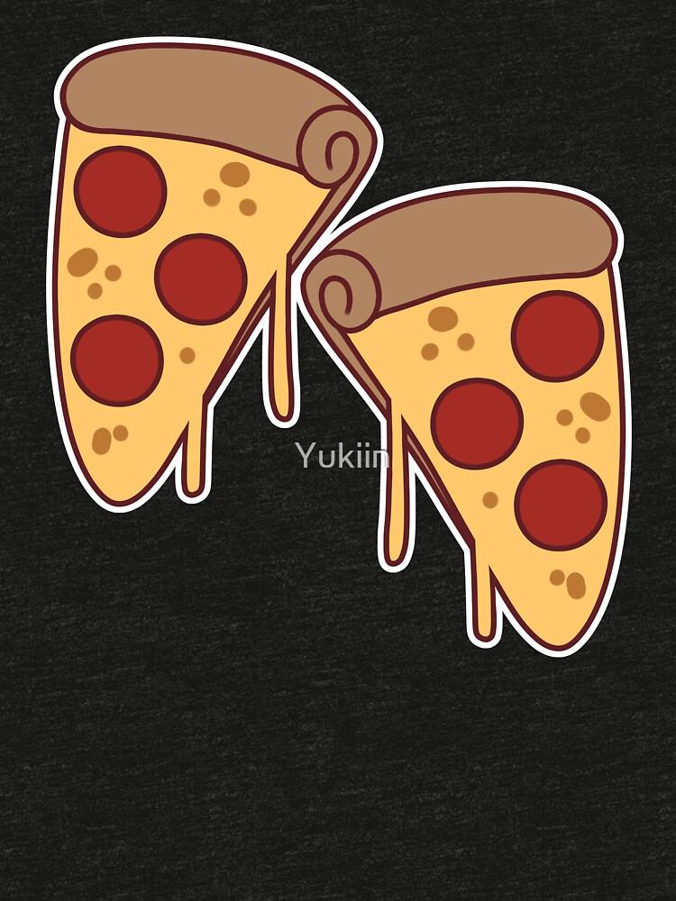 Pizza Slices by Yukiin