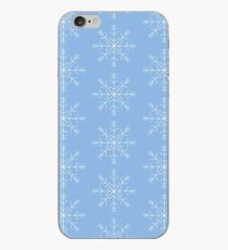 Snow falling iPhone Case