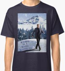 Camiseta clásica Walken en un país de las maravillas de invierno