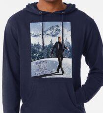 Walken Sie in einem Winterwunderland Leichter Hoodie