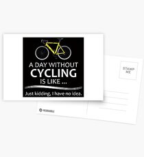 Cycling Gifts for Cyclists Postcards