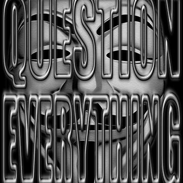 QUESTION EVERYTHING by Paparaw