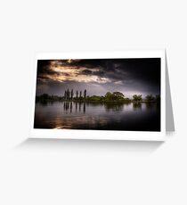 Lake view.  Greeting Card