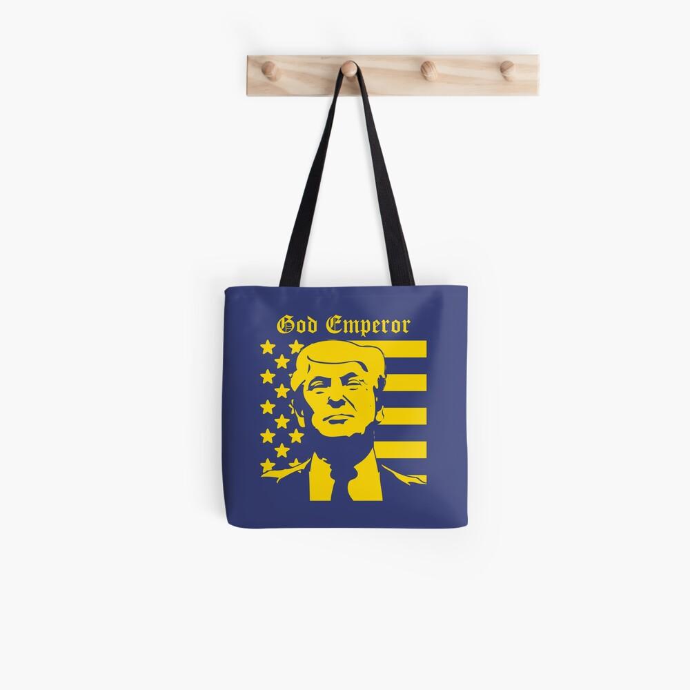 Trump - God Emperor Tote Bag