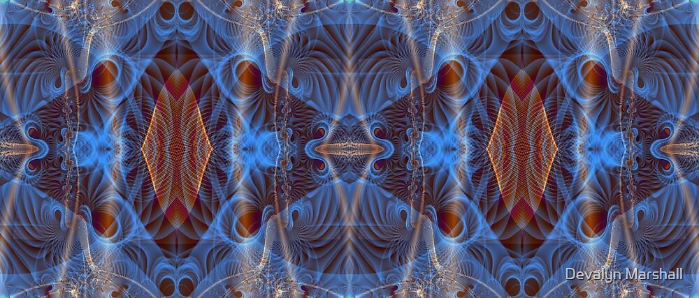 Blue Mosi-Oa-Tunya3 by Devalyn Marshall