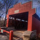 Wertz's Covered Bridge by Terence Russell