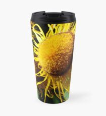 Sunflowers in Bloom - Shee Nature Photography Travel Mug