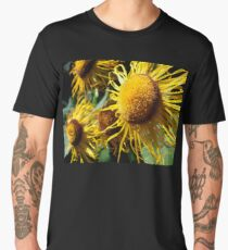 Sunflowers in Bloom - Shee Nature Photography Men's Premium T-Shirt