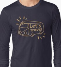 Let's travel Long Sleeve T-Shirt