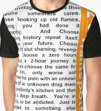 Trainspotting 2 - Choose Life Graphic T-Shirt