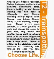 Trainspotting 2 - Choose Life Poster