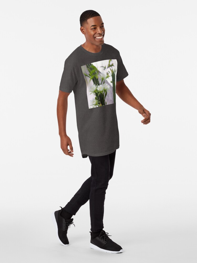 Alternate view of Princess of the Night - Blooming in Abundance Long T-Shirt