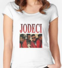 JODECI 90S R&B FUNK THROWBACK Women's Fitted Scoop T-Shirt
