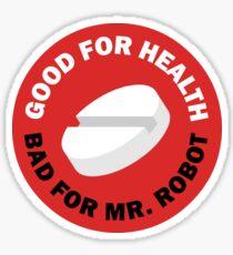 MR. ROBOT X AKIRA Sticker