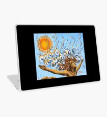Balance of Life (cut) - Yoga Art from Shee - Surreal Worlds Laptop Skin