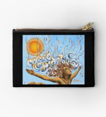 Balance of Life (cut) - Yoga Art from Shee - Surreal Worlds Studio Pouch