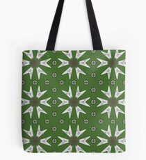 Flying V Snowflake Tote Bag