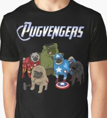 The Pugvengers Graphic T-Shirt
