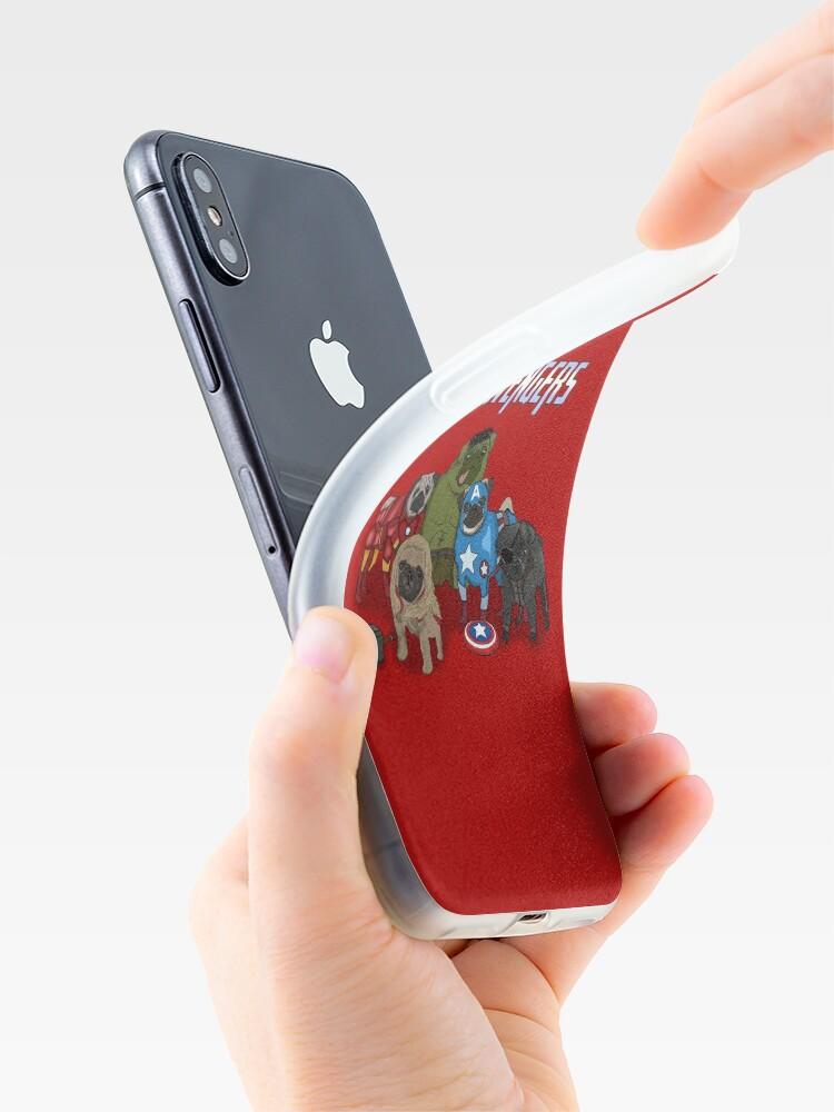 Vista alternativa de Vinilos y fundas para iPhone Los Pugvengers