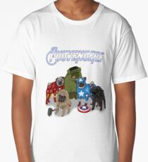 The Pugvengers Long T-Shirt